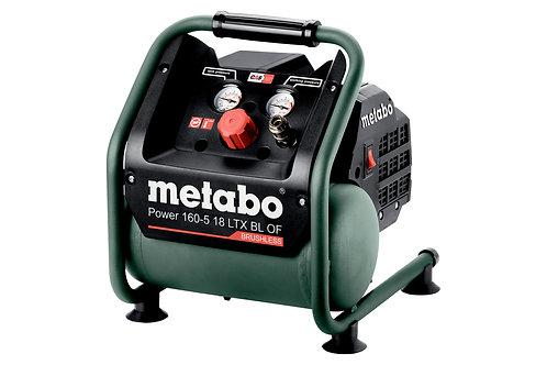 COMPRESSORE A BATTERIA METABO POWER 160-5 18 LTX - SOLO CORPO MACCHINA
