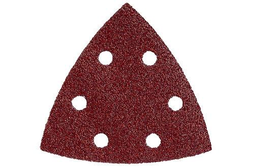2 CF DA 5 FOGLI ABRASIVI TRIANGOLARI 93X93 MM - Diverse grane