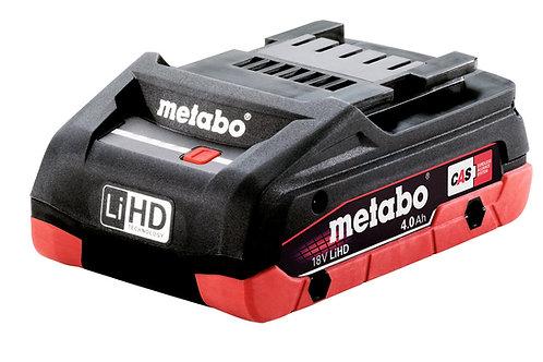 BATTERIA METABO 18 V 4.0 AH LI-HD