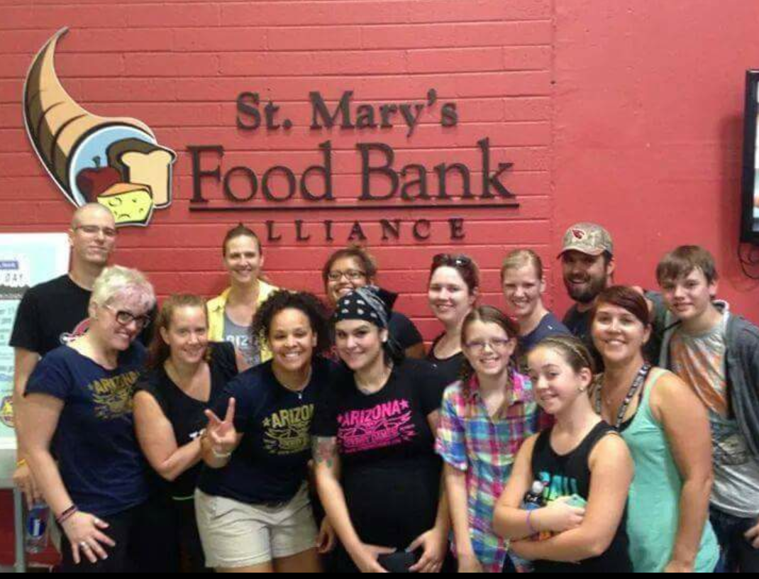 food bank pics