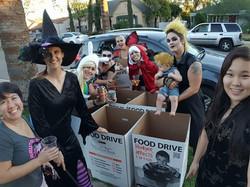halloween food drive