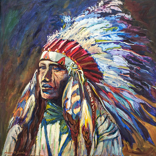 Lakota - 24X24 (Sold)