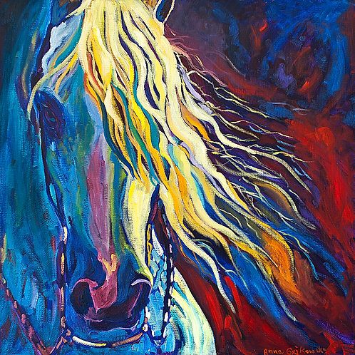 Arabian Beauty - 24x24