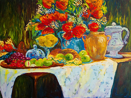 Dine With Me - 30X40