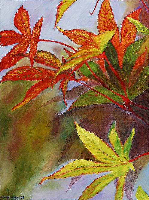 Fall Leaves - 18X24