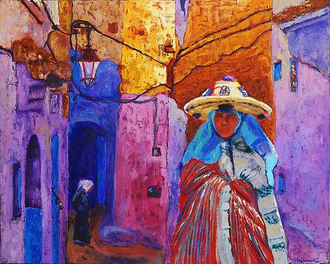 Berber Woman - 24X30