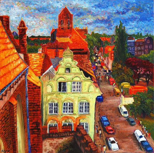 Gdansk, View From St. Nicholas Church - 24X24