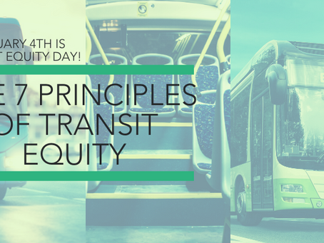 The 7 Principles of Transit Equity
