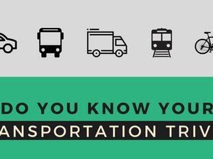 National Transportation Week: Transportation Trivia