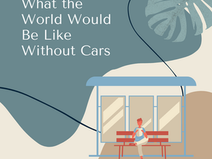 What the World Would Be Like Without Cars