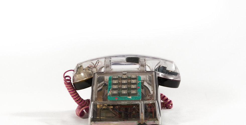 Telefono trasparente