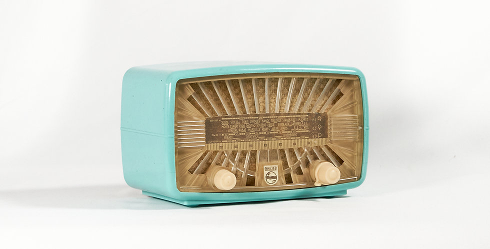 Radio Philips azzurra