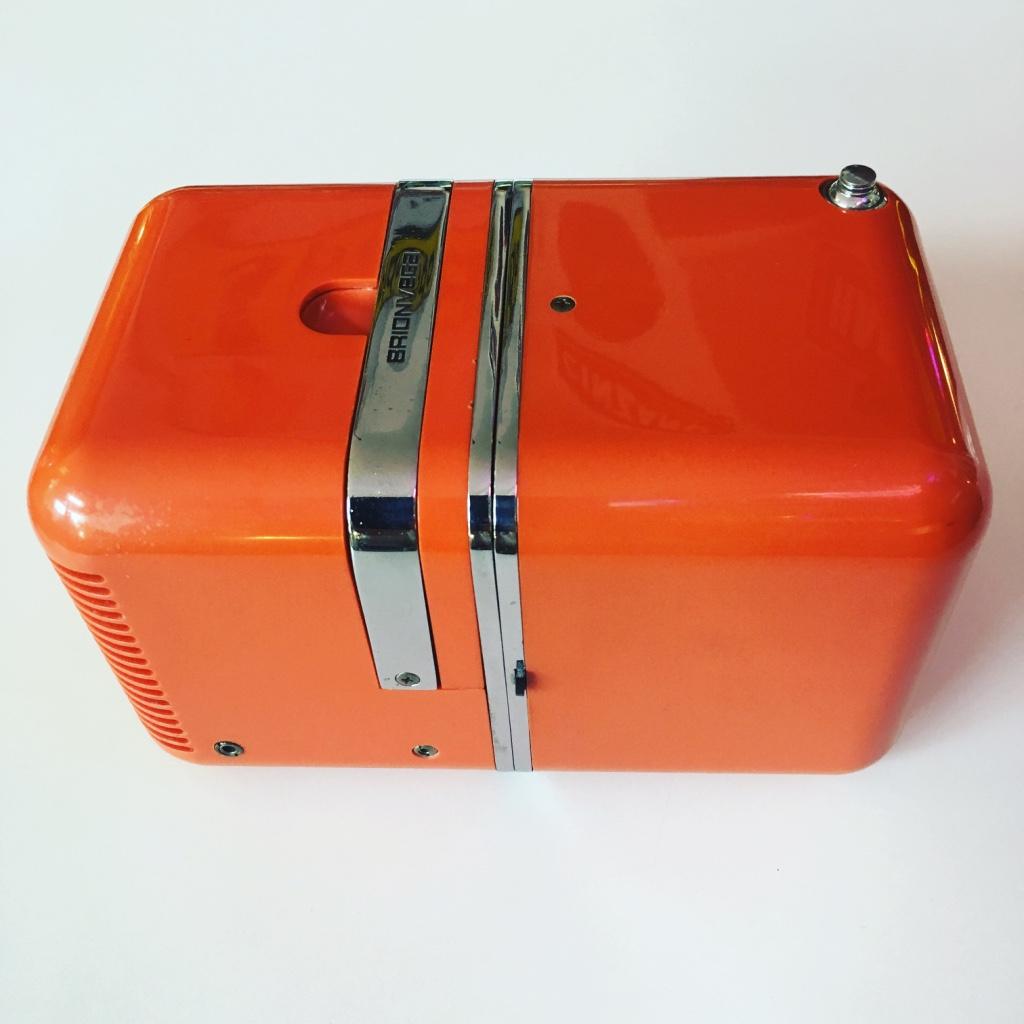 brionvega 1964 orange