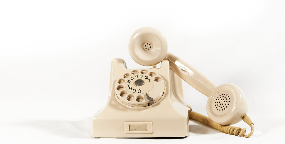 Telefono bianco
