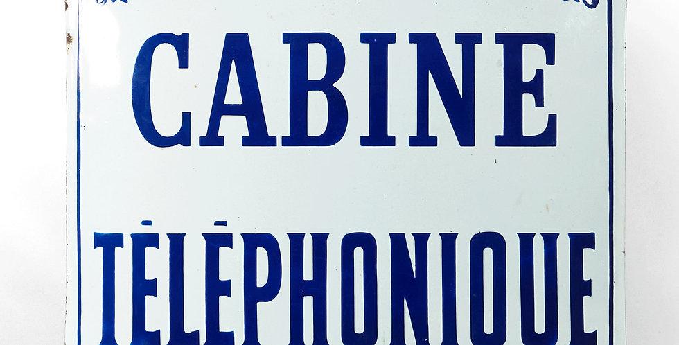 Insegna Cabine Telèphonique