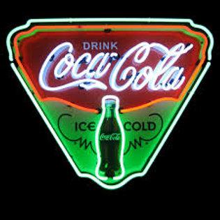 Neon coca cola 1990