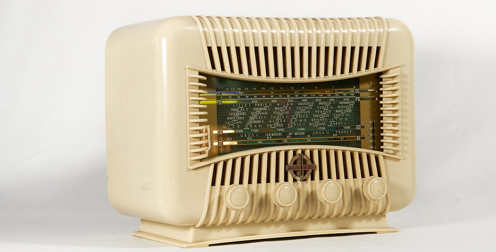 Radio Ducretet bianca