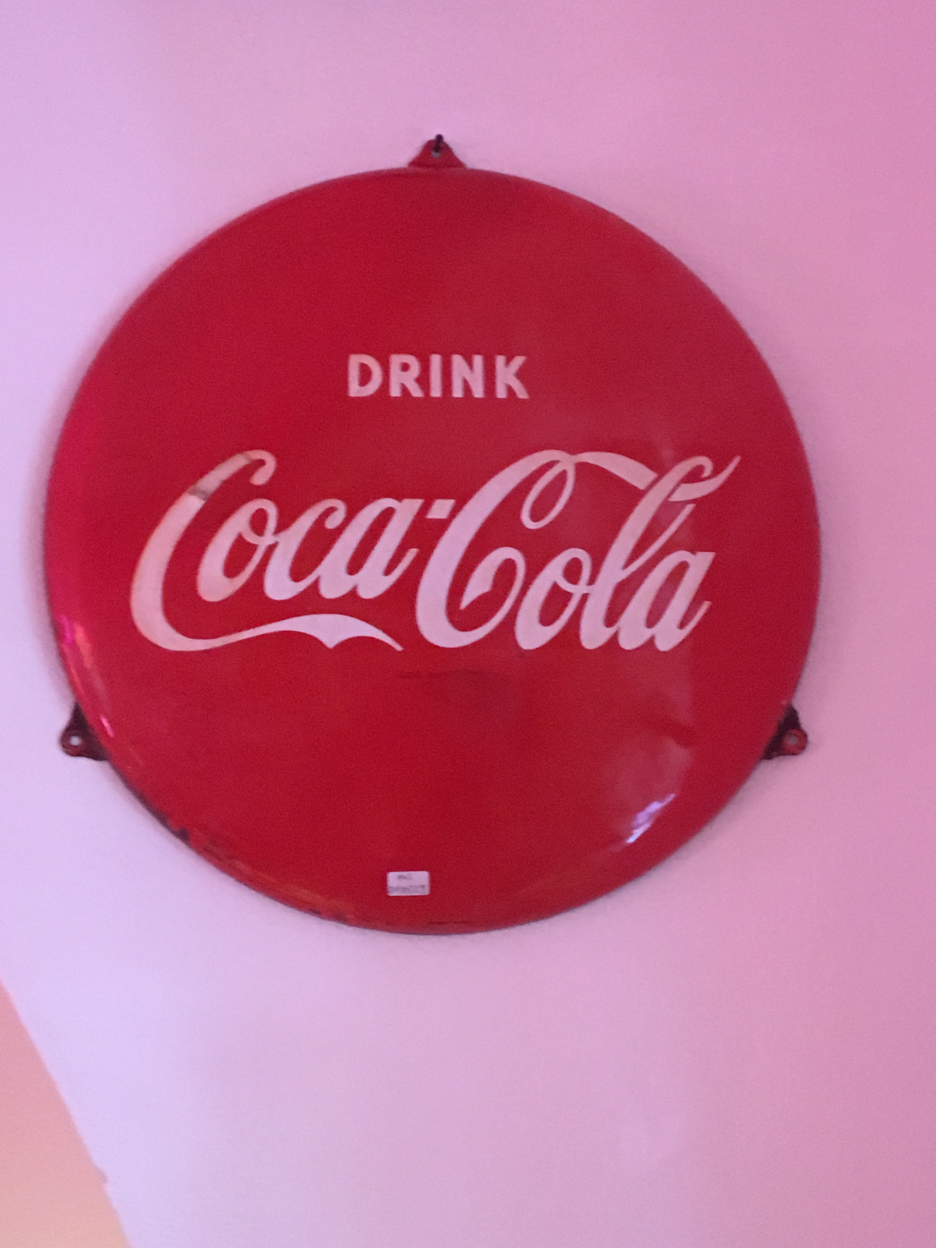 coca cola botton