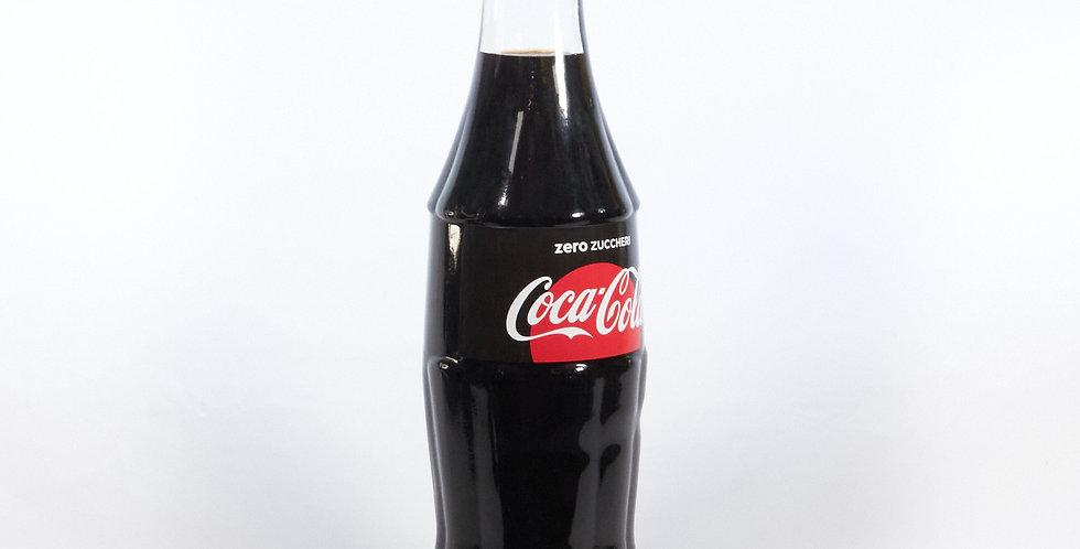 Bottiglia Coca Cola zero espositiva