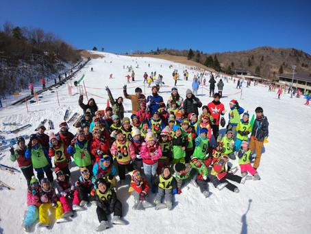初心者スキー教室