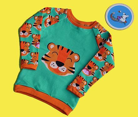 Tiger Panel Sweatshirt