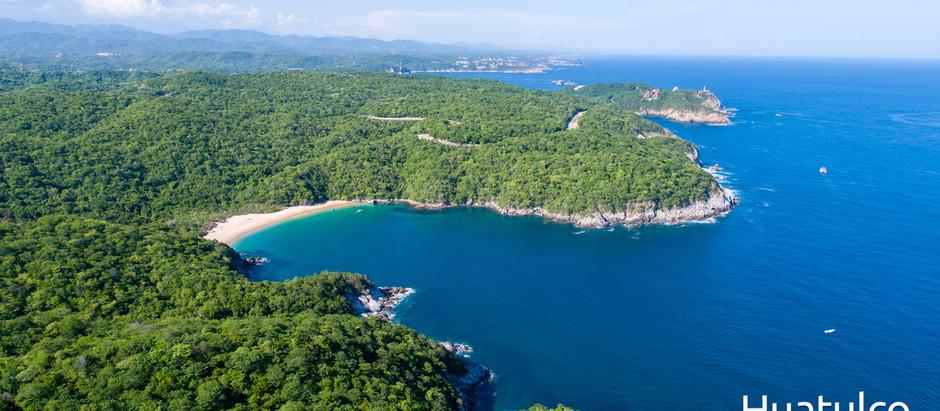 Sí, en Huatulco tenemos 36 playas.