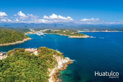 Vista General de la Bahía Santa Cruz