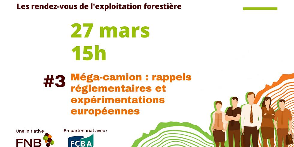 #3 Méga-camion : rappels réglementaires et expérimentations européennes