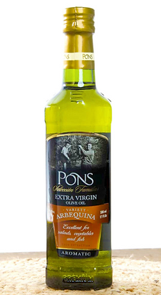 Pons Extra Virgin Olive Oil (Arbequina)