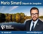 Mario Simard format 11 po x 8,5 po horiz