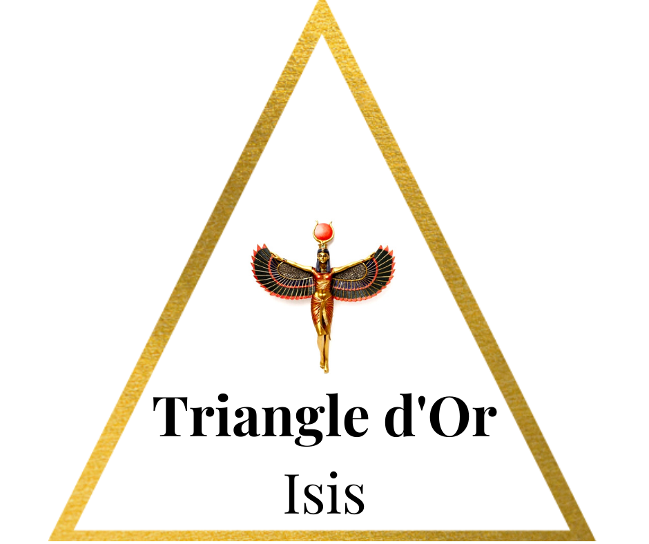 Soin du triangle d'or d'Isis