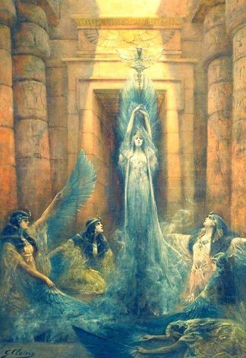 Rituels autour de la déesse Isis