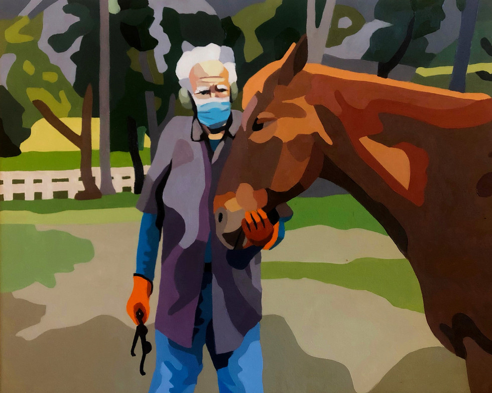 Horse & Father