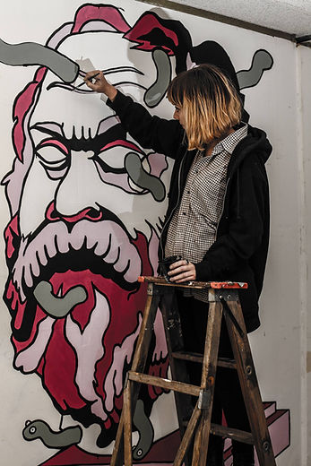 Rich White Man being painted.jpg
