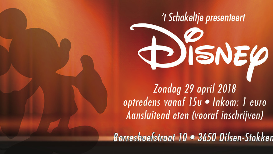 Schoolfeest 'Disney' - zondag 29 april '18