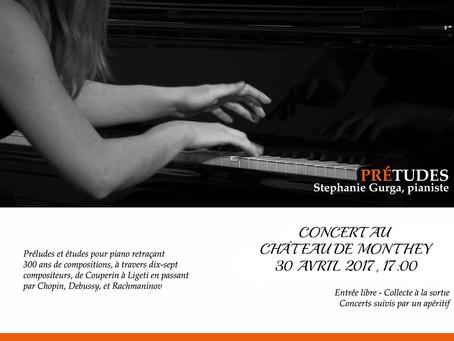 < PREtudes > Repeat Concert for Stephanie Gurga