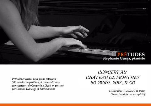 Stephanie Gurga Concert au Chateau de Monthey