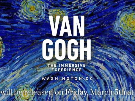 ART EVENT: Van Gogh: The Immersive Experience
