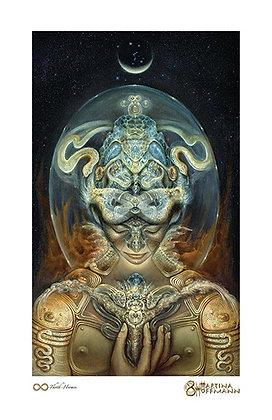 Mini Print - Thoth-Hermes, M. Hoffmann