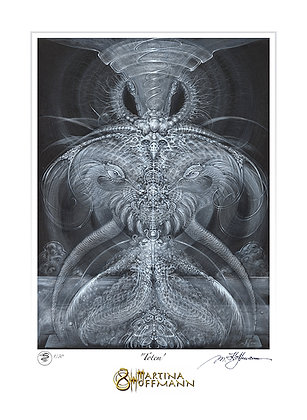 MH Digigraphie, Limited Edition Fine Art Print on Paper, small size - TOTEM