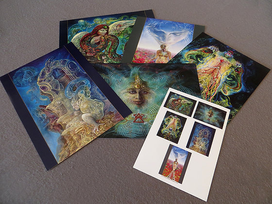 MH - NEW- Large Art Cards - Set #3 - Selection of 5 images