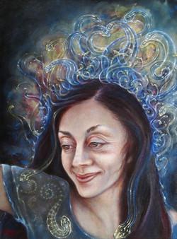 Portrait Of Silvia | Martina Hoffmann