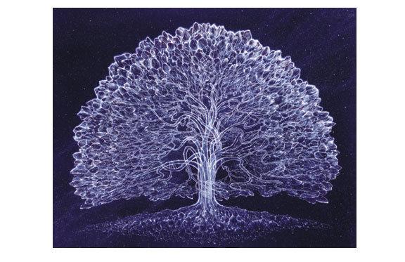 Mini Print - Celestial Tree, R. Venosa