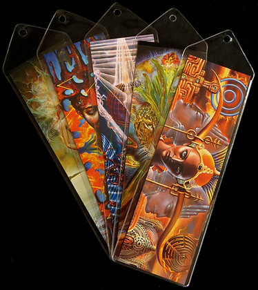MH Bookmarks - Full set of 5