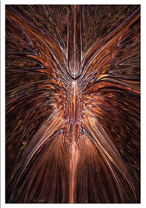 RV Art/Note Card - Angelic Manifestation