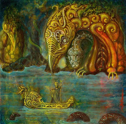 MH Limited Edition Print on Canvas - INANA'S DESCENT