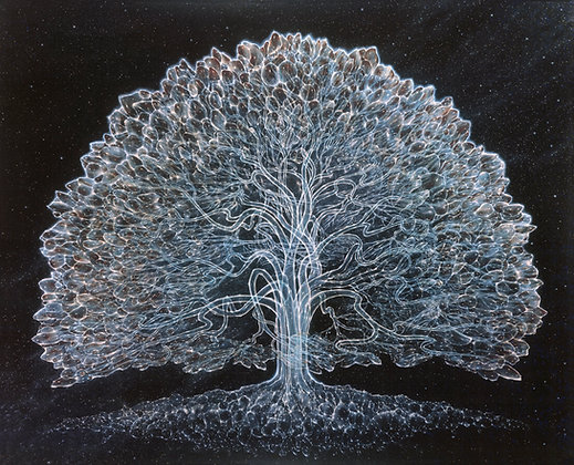 RV Limited Edition Print on Canvas - CELESTIAL TREE