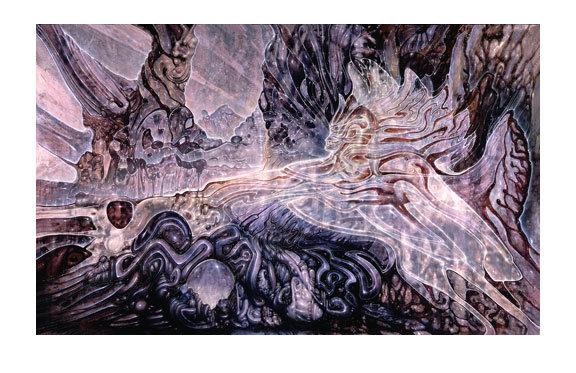 Mini Print - Angelic Awakening, R. Venosa