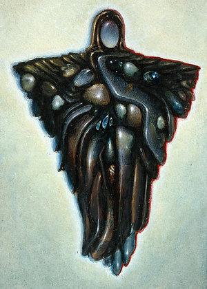 RV Art/Note Card - Jewel Angel