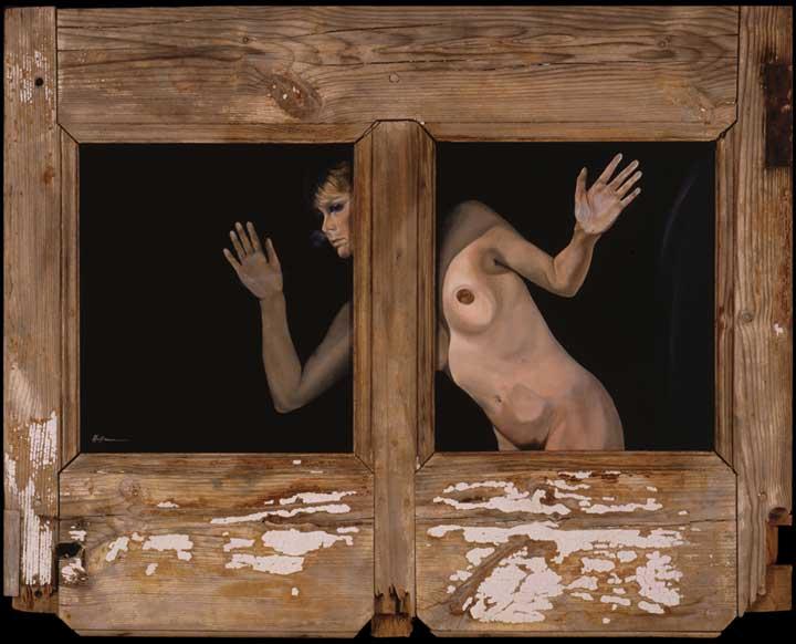 Woman Under Glass | Martina Hoffmann